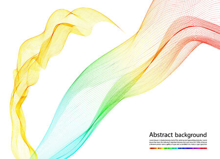 abstract colorful smoke,   background  Vector