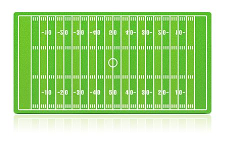 campo di calcio: Campo di football americano con trama di erba (rumore)
