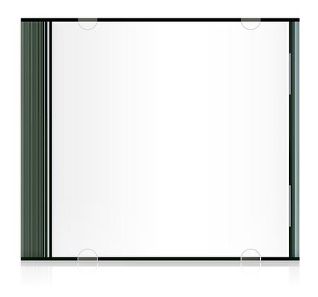 blank cd box Stock Vector - 8029506