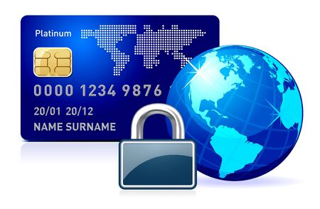 secure security: secure online payment.