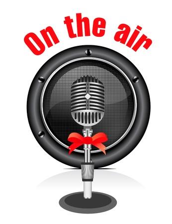 microfono radio:   micr�fono retro