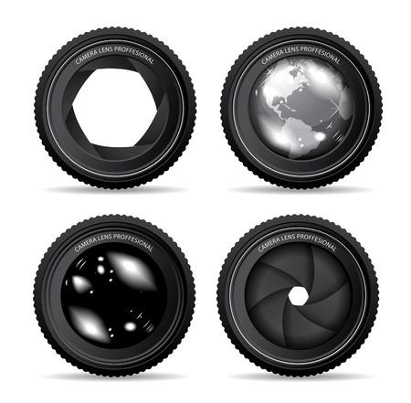 macro photography: camera lens