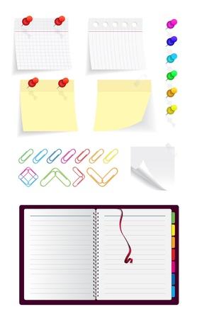 tachuelas: Note_set (18) .jpg Vectores