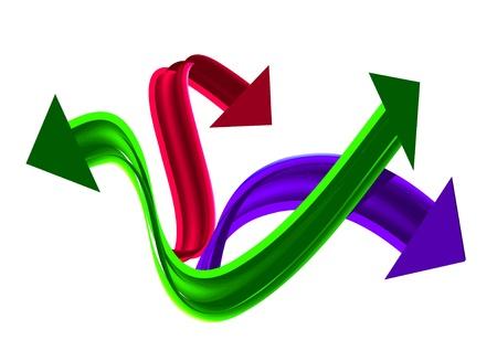ArrowS(19).jpg Stock Vector - 8443369