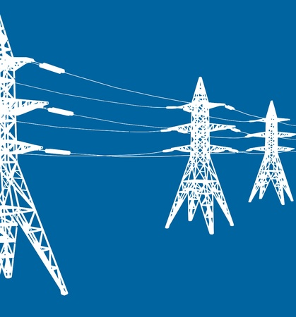 high tension: power line