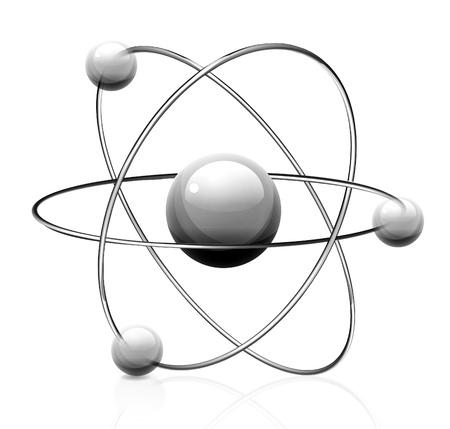 Símbolo del átomo