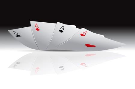 bluff: Quattro assi