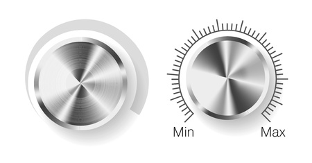 volume knob: Volume control  Illustration