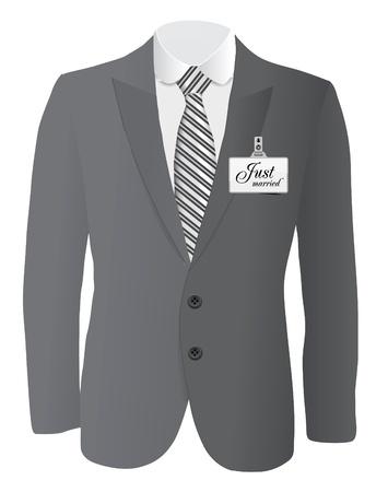traje: traje de boda conept