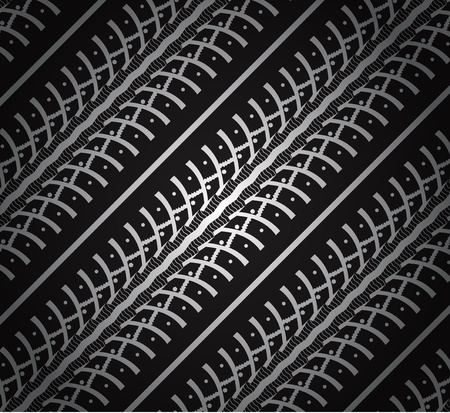 tred: repeating tire tracks