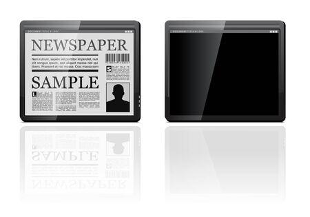 Generic tablet PC Stock Vector - 9352921