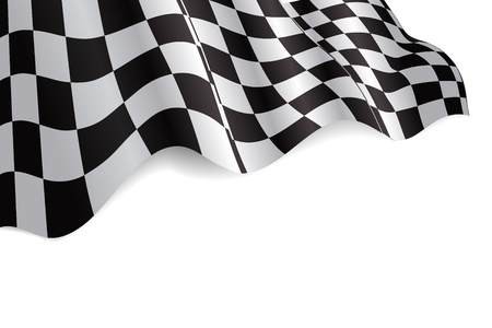 Checkered Flag Stock Vector - 9526355