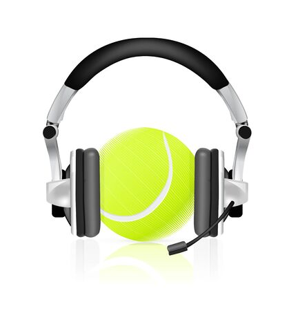 commentator: Tennis concept