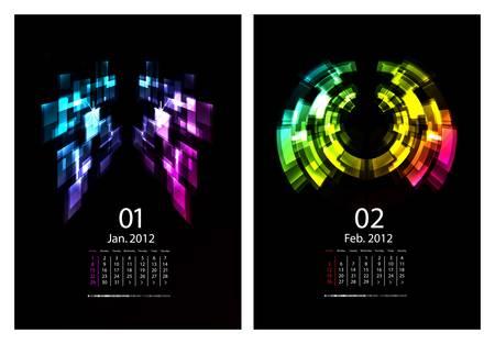 weekday: Calendar set