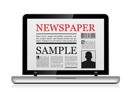 online newspaper: Online newspaper
