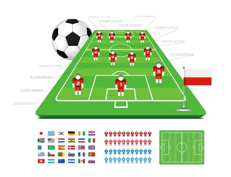 Soccer Tactical Kit Stock Vector - 10102809