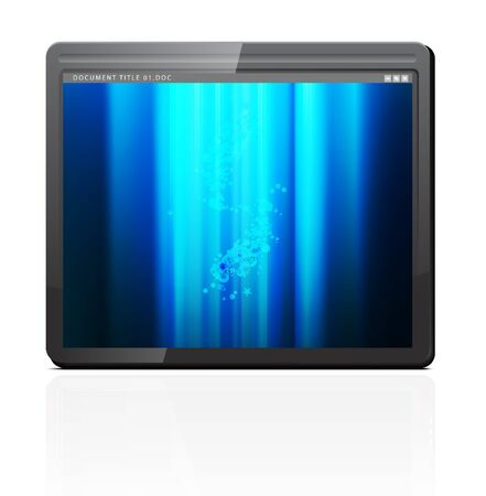 Touchpad or Tablet PC Stock Vector - 10102807