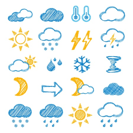 snow storm: Weather icon