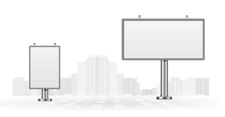 outdoor blank billboard: Billboards