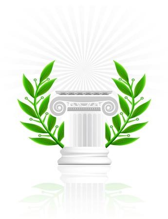 ancient rome: Classic Column
