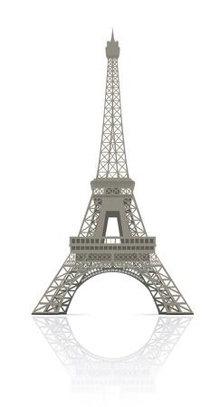 eiffel tower: Eiffel tower in Paris