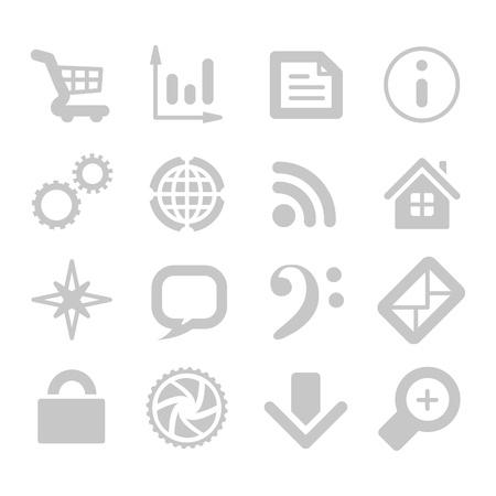 mobilhome: les ic�nes des applications Illustration