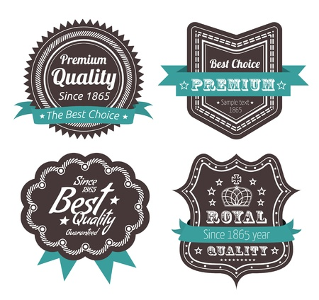 premium quality: Guarantee Label