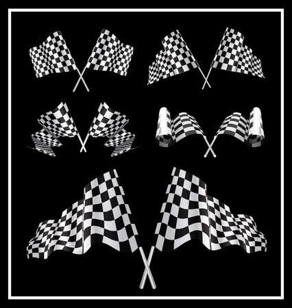 motorizado: Banderas a cuadros configurar