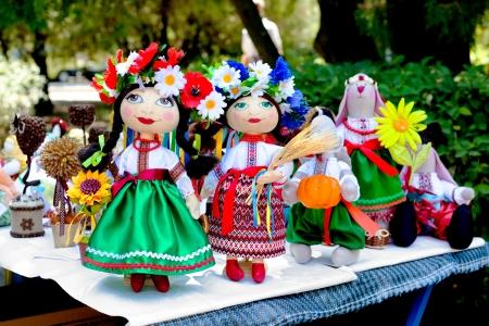 cossack: Ukrainian Cossack toy dolls