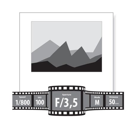 characteristics: Characteristics of the photographs Illustration