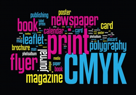 cmyk: Printing Word Cloud