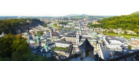 Panoramic view - Salzburg Stock Photo - 15427987