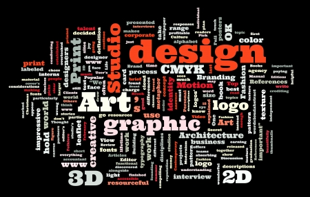 cmyk abstract: Graphic design studio