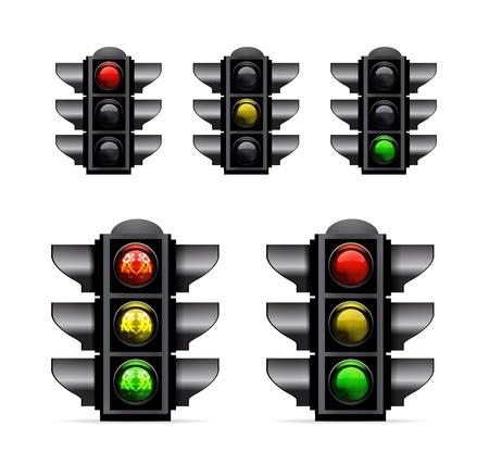 Traffic lights Stock Vector - 15756371