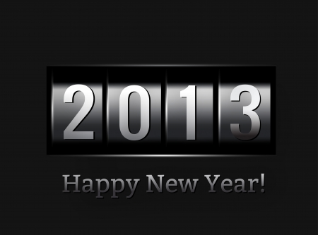 new beginnings: New Year counter 2013