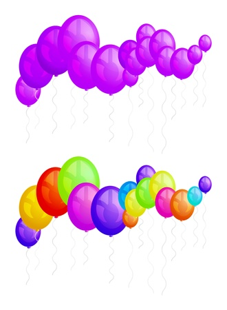 Balloons party Stock Vector - 16876523