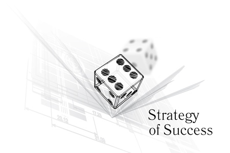 Strategy for success Vector