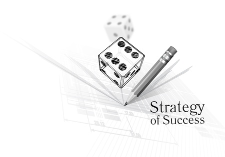 Strategy for success Stock Vector - 17423141