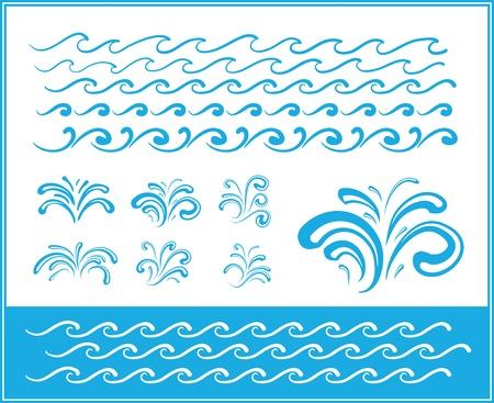 capricious: Set of wave symbols for design