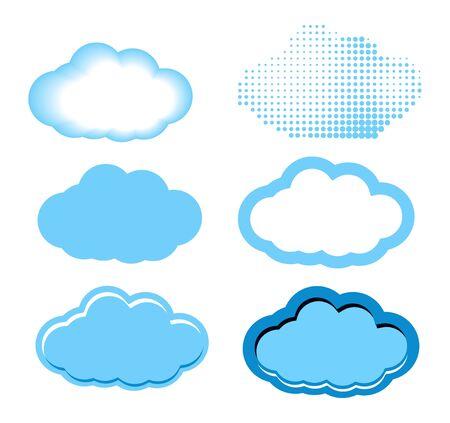 Clouds Set Stock Vector - 19021824