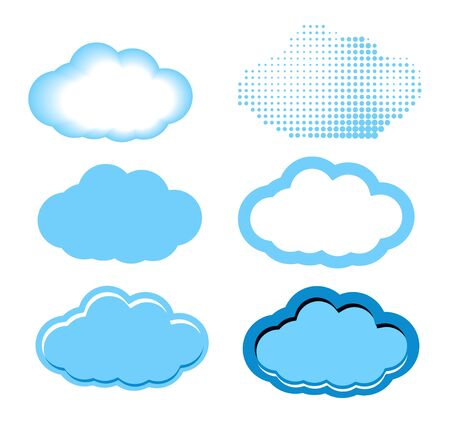 Clouds Set Stock Vector - 19021824