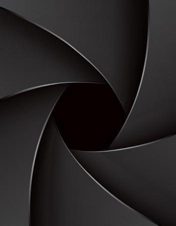 shutter speed: Shutter aperture illustration