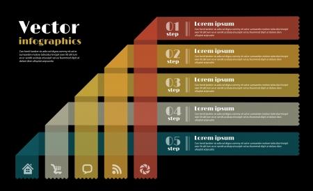 Modern Design template for infographics Stock Vector - 19752403