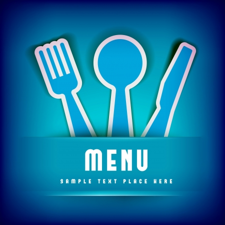 Restaurant Menu Card Design template Vector