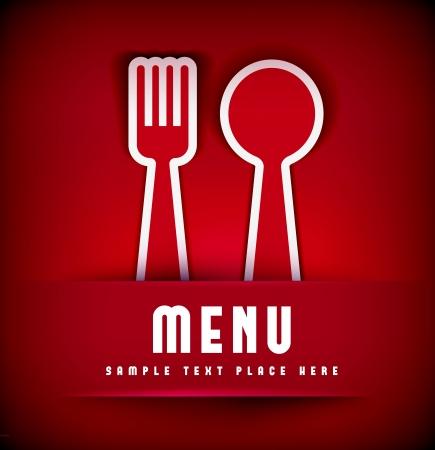 Restaurant Menu Card Design template. Vector illustration Stock Vector - 20137680