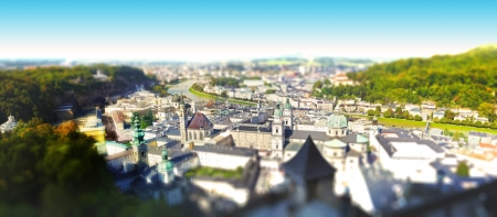 Panoramic view - Salzburg Stock Photo - 20407902