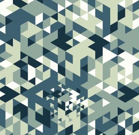 Geometric hipster retro background. Retro triangle vector background Stock Photo - 21151393