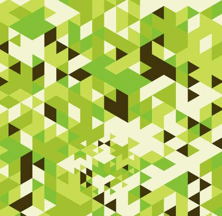 Geometric hipster retro background. Retro triangle vector background Stock Photo - 21151394