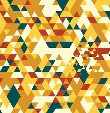 Geometric hipster retro background. Retro triangle vector background Stock Photo - 21151395