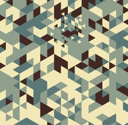 Geometric hipster retro background. Retro triangle vector background Stock Photo - 21151397